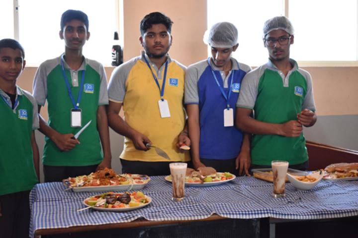 Al Furqan Islamic English Medium School-Cooking Exhibition