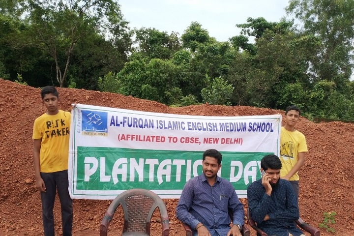 Al Furqan Islamic English Medium School-Plantation Event