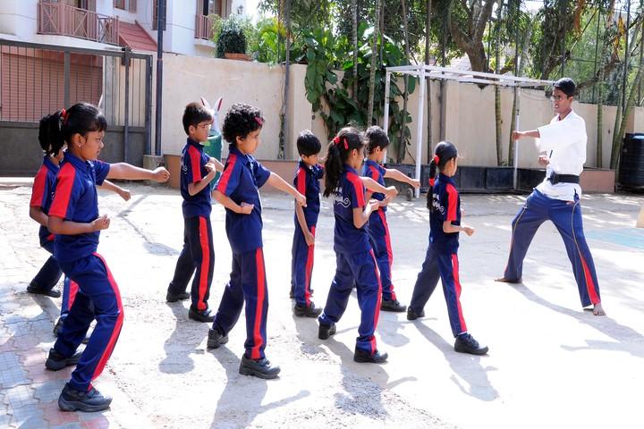 Alpine Public School-Karate