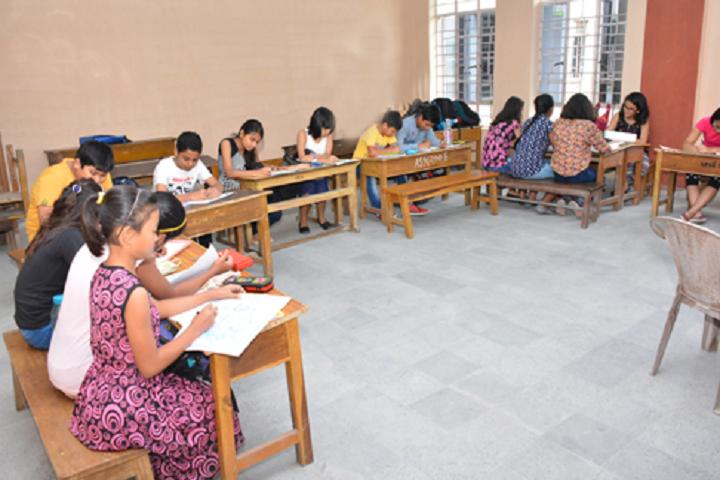 Army School-Classroom view