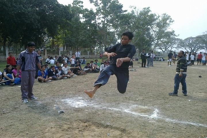 Army School-Sports jump