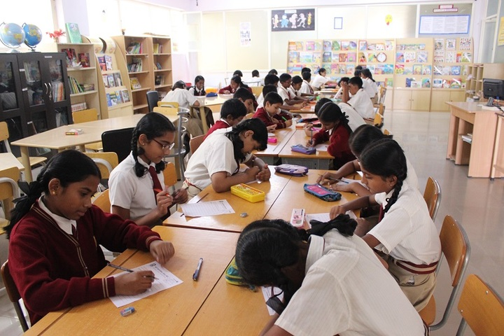Amara Jyothi Public School-Library