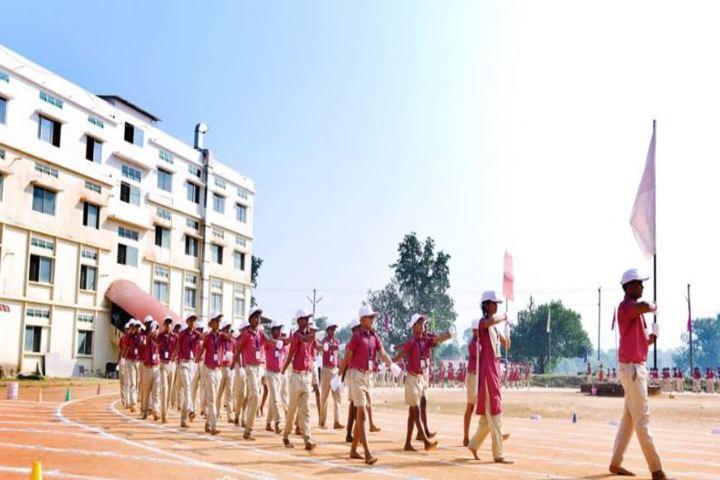 Amratha Bharathi Vidyakendra-March Past