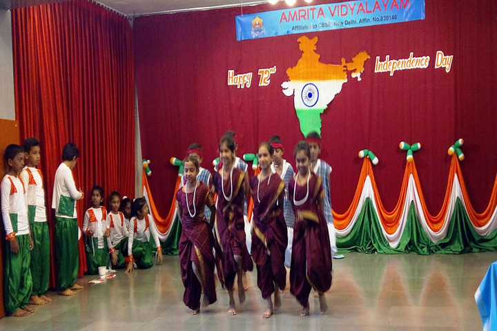 Amrita Vidyalayam-Independence Day Celebrations