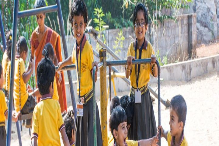 Anandathirtha Vidyalaya-Kids Play Area