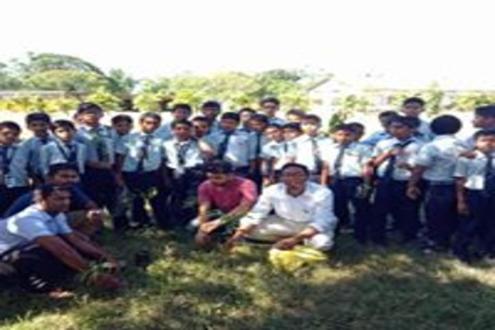 asian public school - Tree Plantation