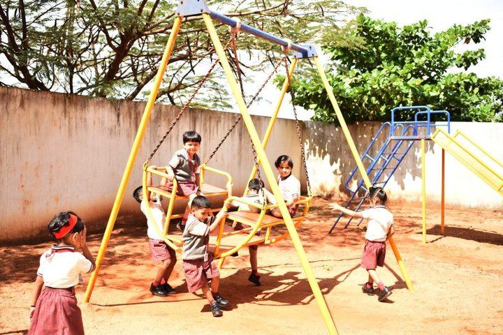Angadi International School-Kids Play Area