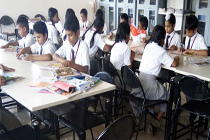 Angadi International School-Library