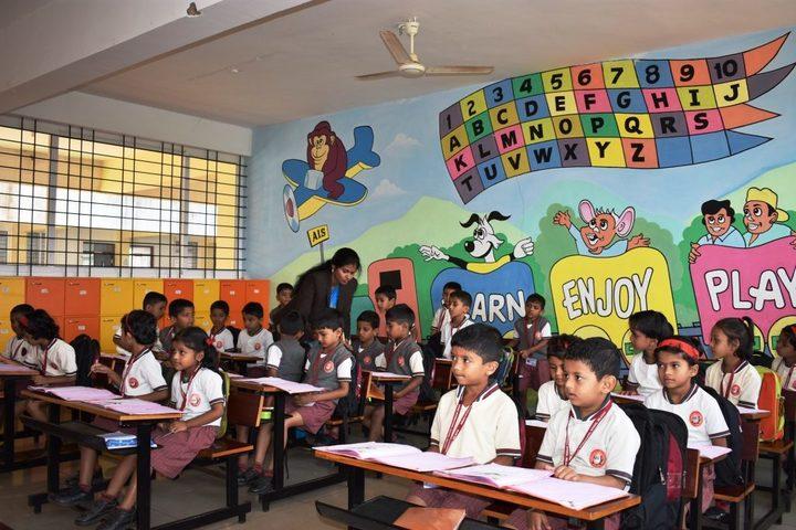 Angadi International School-Pre-Primary Classroom