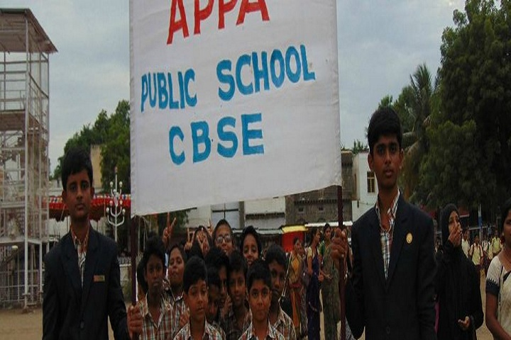 Appa Public School-Rally