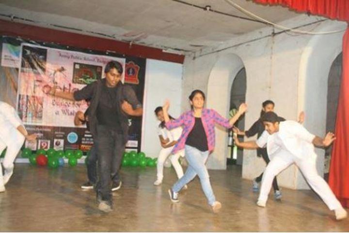 Army Public School-Dancing Activity