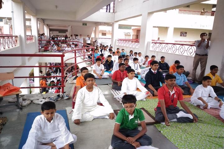 Army Public School-Yoga Day