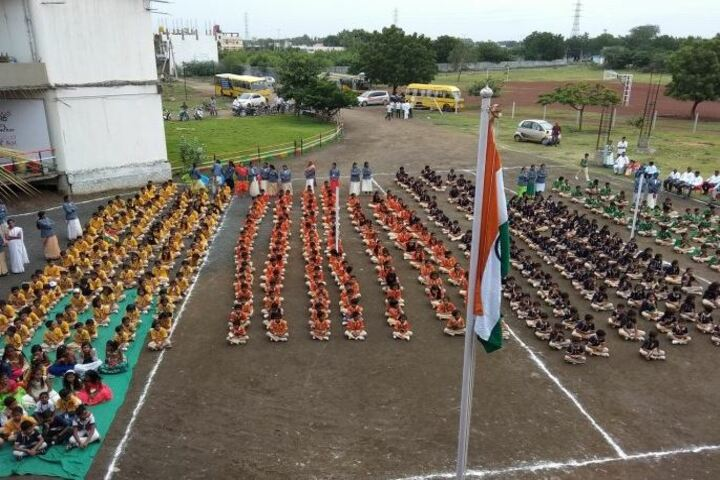 Aryan English Medium School-Independence Day