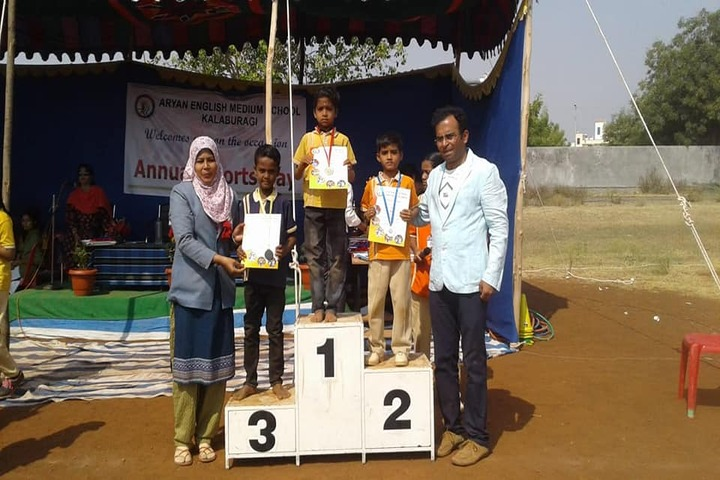 Aryan English Medium School-Winners