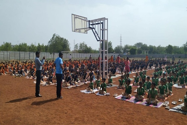Aryan English Medium School-Yoga