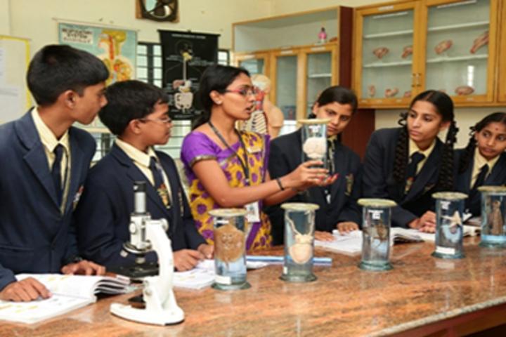 Ashok International Public School-Chemistry Lab