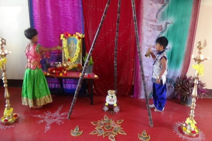 Atreya Vidyaniketan-Festival Celebration