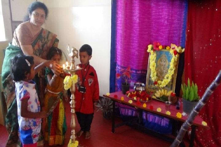 Atreya Vidyaniketan-Lighting The Lamp