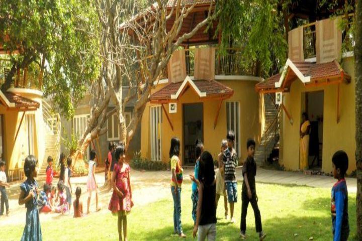 Auro Mirra International School-Kids Play Area