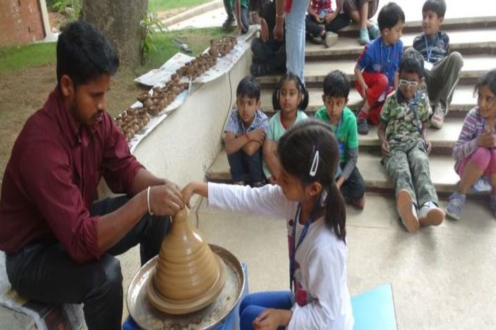Auro Mirra International School-Pottery