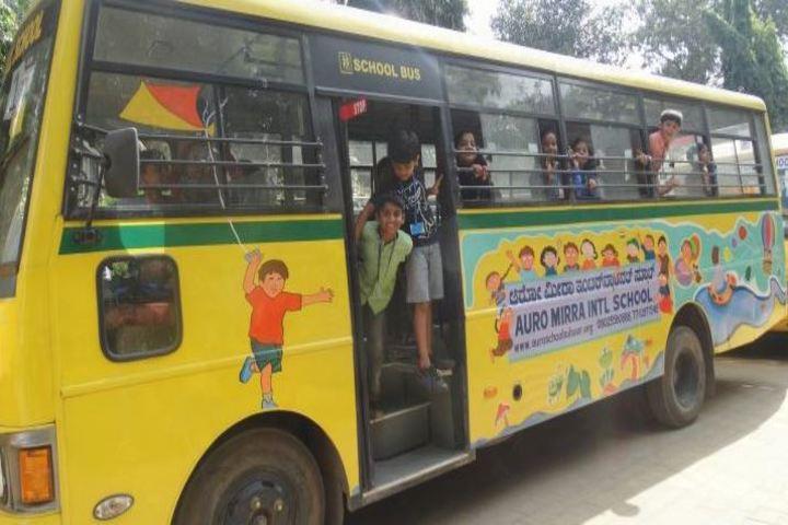 Auro Mirra International School-Transport
