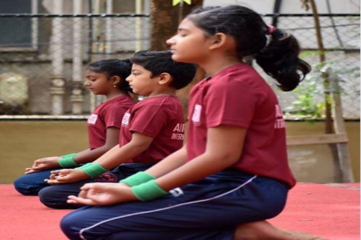 Auro Mirra International School-Yoga