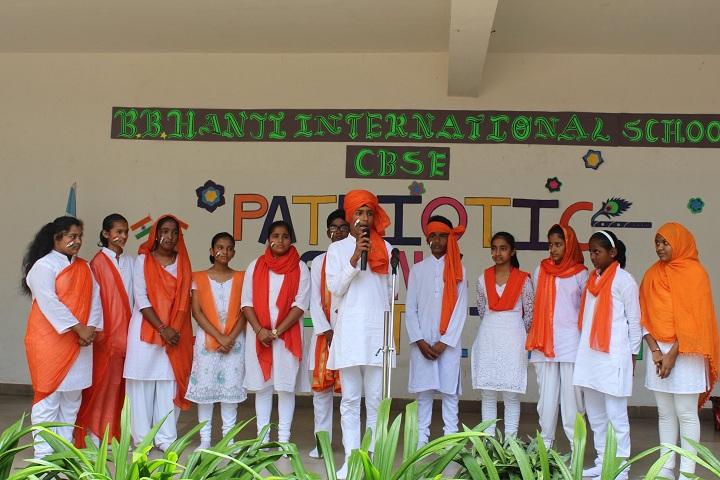 B B Hanji International School-Independance Day