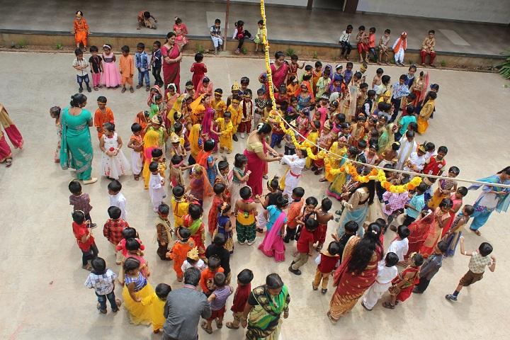 B B Hanji International School-Krishnashtami