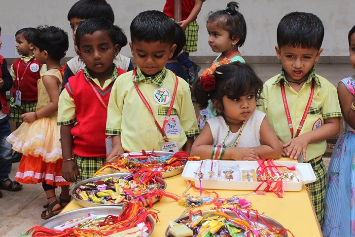 B B Hanji International School-Raakhi Festival