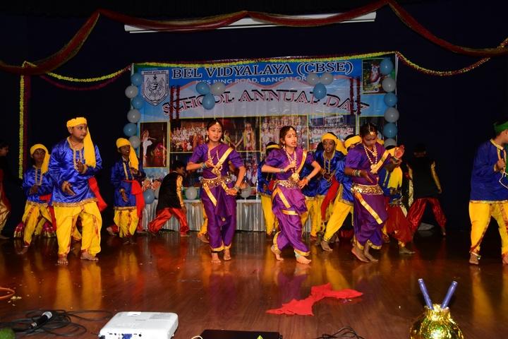 B E L School-Annual Day Dances