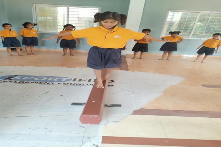 B R V Public School-Activity Room