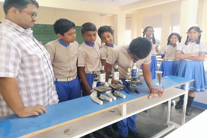 B R V Public School-Biology Lab