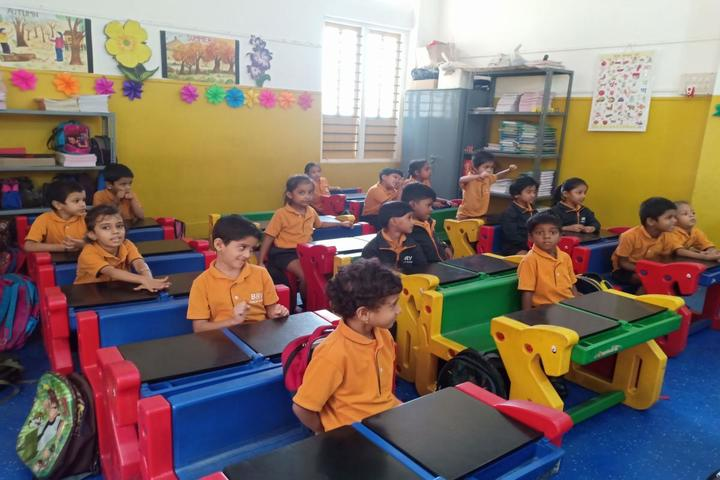 B R V Public School-Classroom