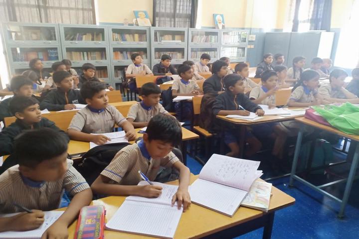 B R V Public School-Classrooms