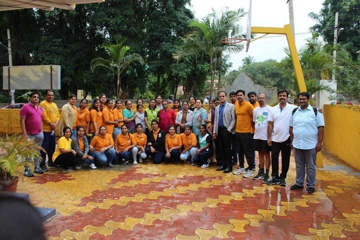 B R V Public School-Students and Staff