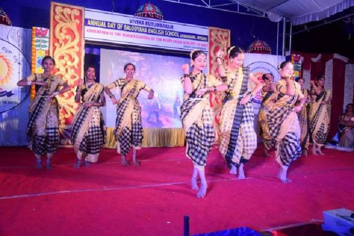 Balodyana English School-Dance