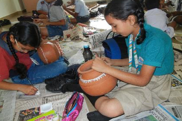 Beml Public School-Art and Craft