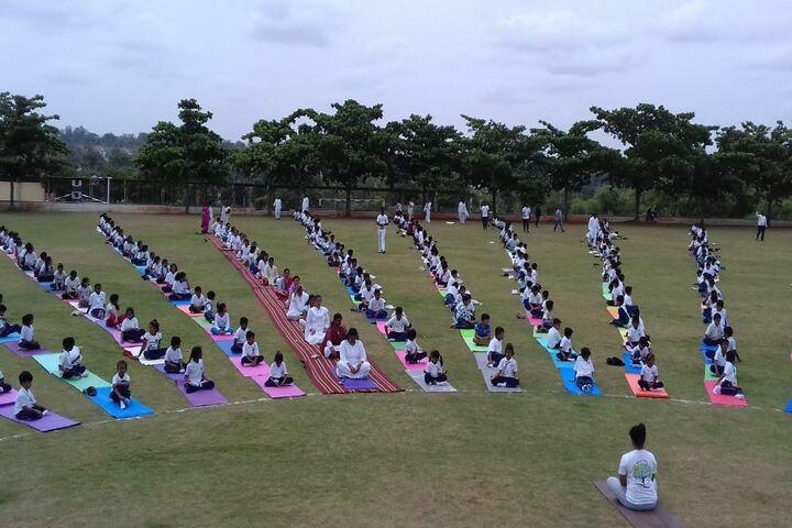 BGS International Residential School-Yoga Day
