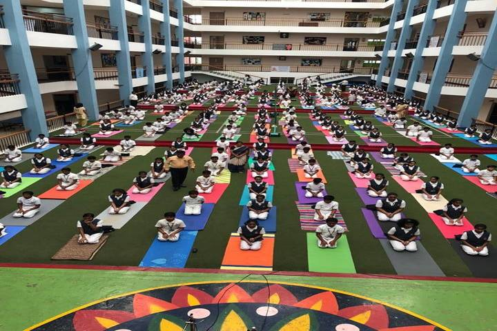 BGS National Public School-Yoga