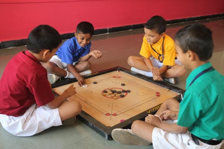 Bharatesh Central School-Indoor Games