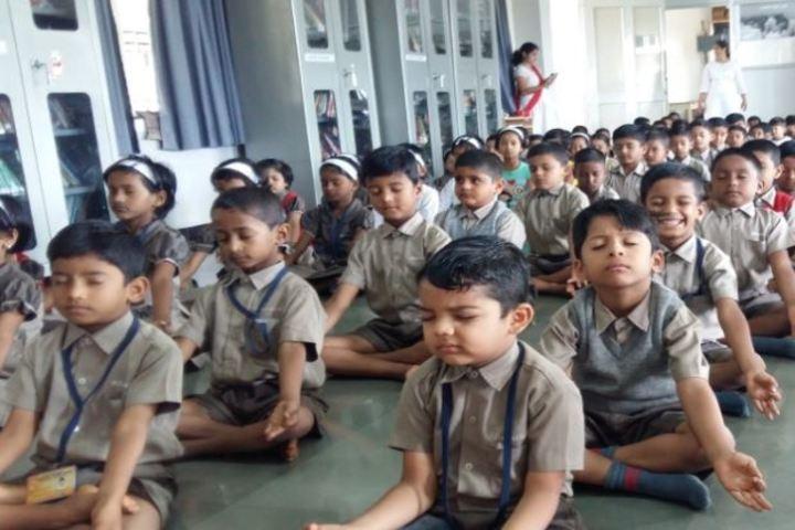 Bharatesh Central School-Meditation