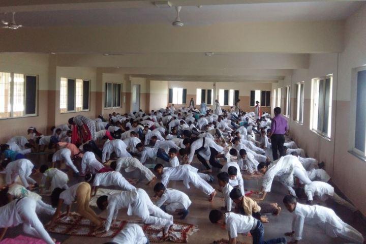 Bharatesh Central School-Yoga