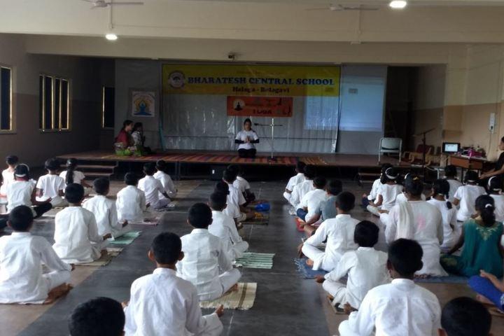 Bharatesh Central School-Yoga2