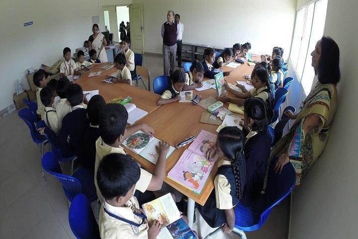 Bharatiya Vidya Bhavan BBMP Public School-Reading Room