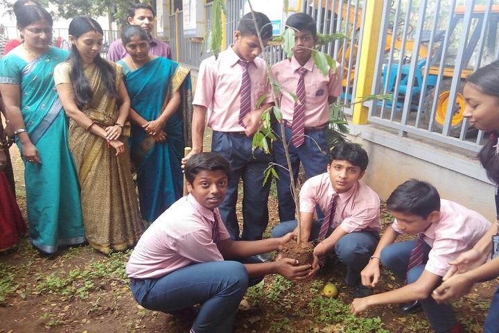 Bhavan Bangalore Press School-Plantation