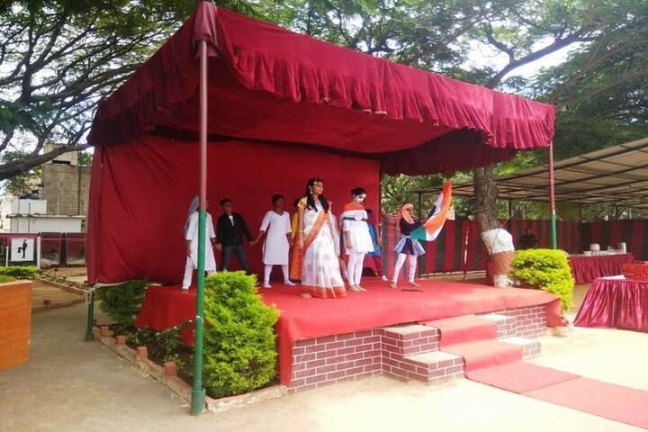 Bvm Global School-Independence Day