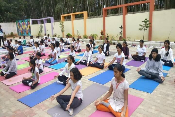 Bvm Global School-Yoga Day