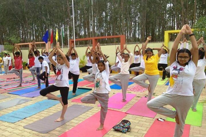 Bvm Global School-Yoga