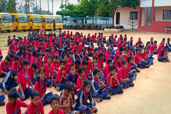 C Muniswamy Public School-Red Day