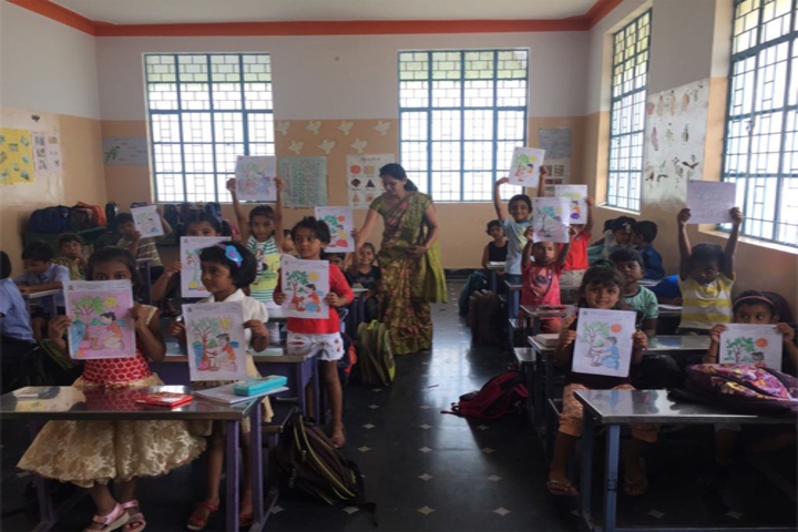 Cambridge International Public School-Colouring Competition